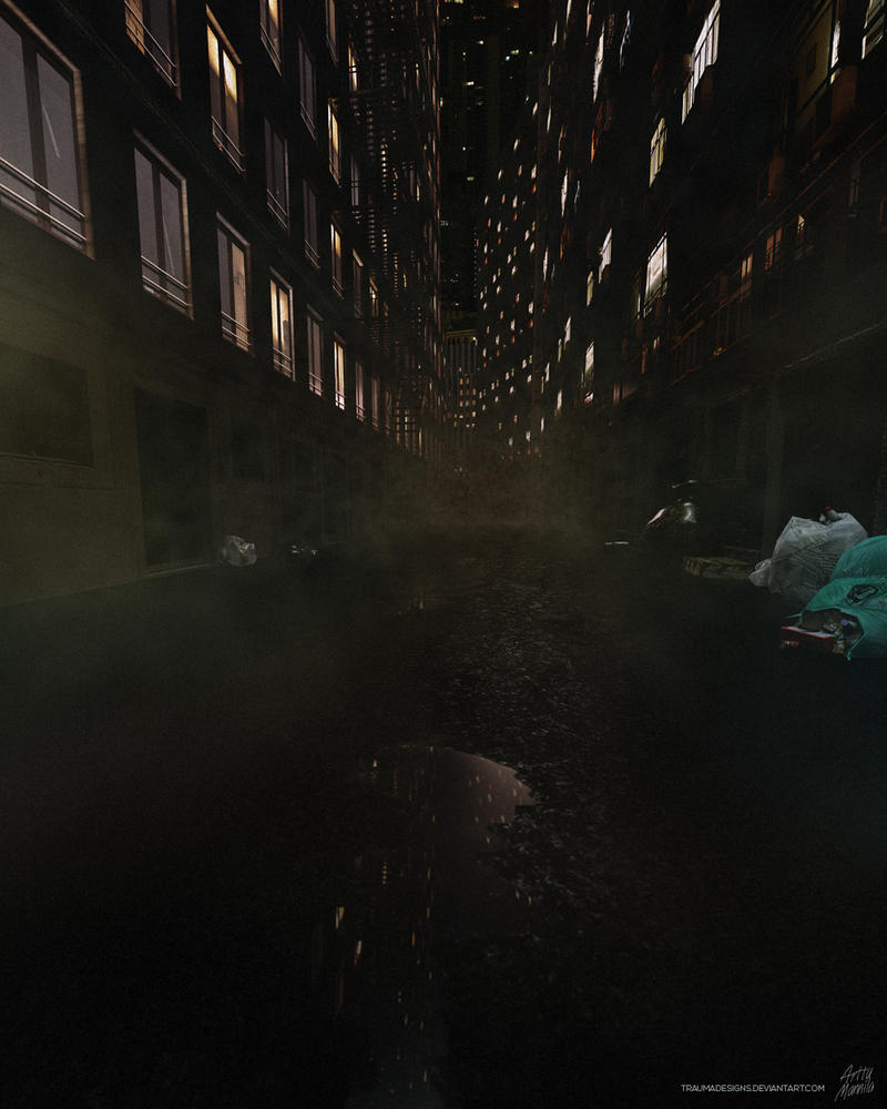 Dirty Alley by traumadesigns