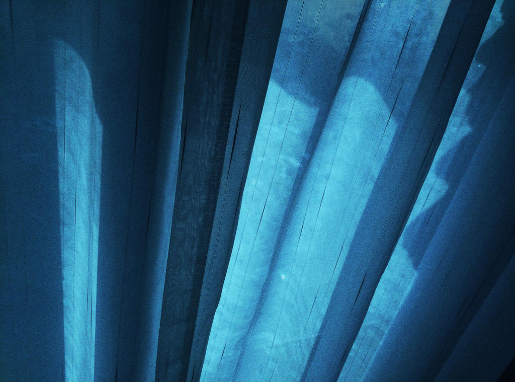 Blue Curtains by CHAOKUNWANG
