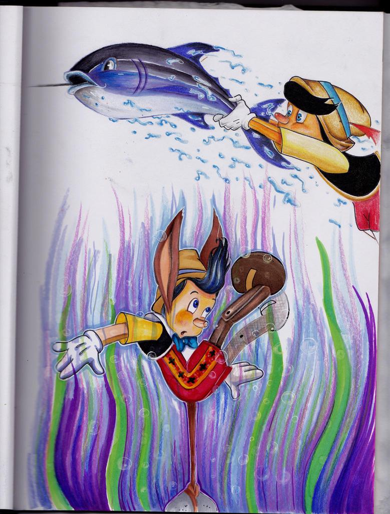 Pinocchio Studies by jrodri21