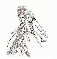 Rococo Coquette and Beau by Amritsar