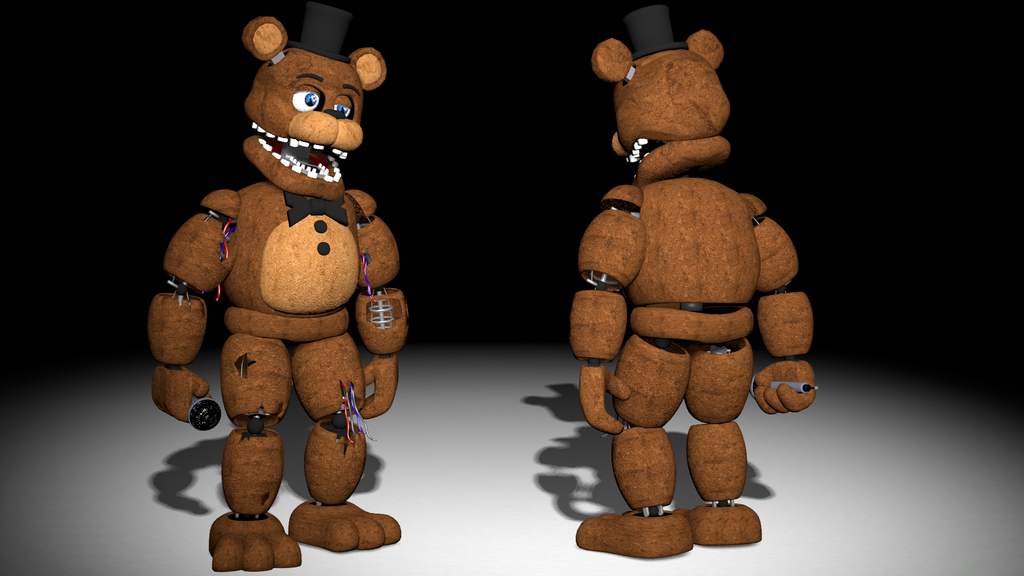 Ammco bus : Fnaf 2 withered freddy voice