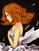Angel Pelirroja by ekara