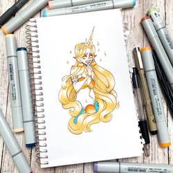 Little Princess grownup  by TrueLoveStory