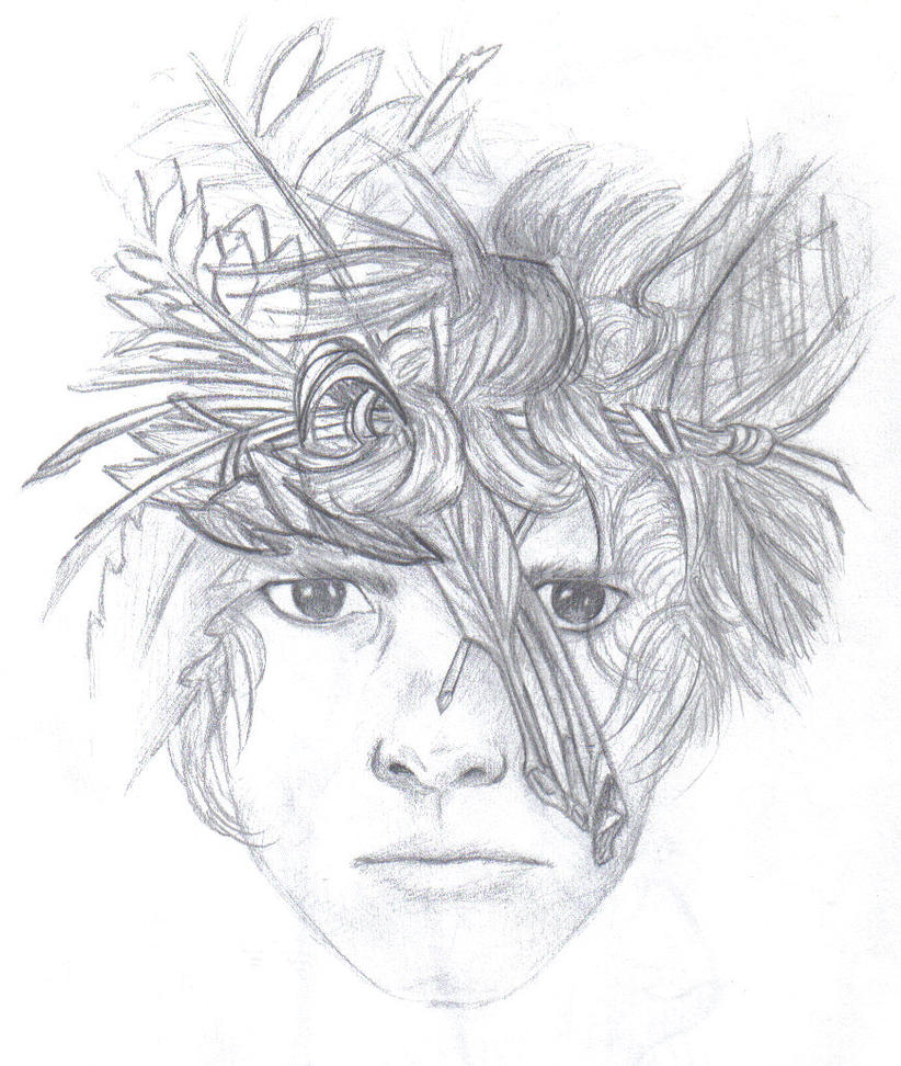 File Name   lord of the flies by chantelaine13-d4ja6fn jpg Resolution    Lord Of The Flies Jack Drawing