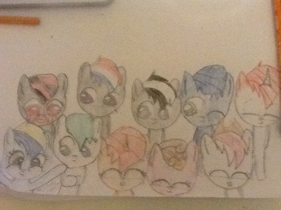 all my best friends! (update!) by cyancrap