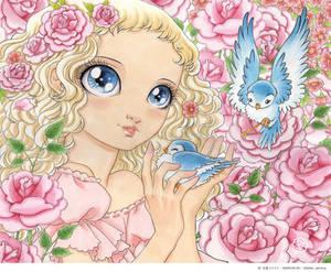 Miss Bluebird closeup