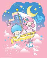 Little Twin Stars - Dreamboat by Marukuki
