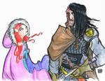 ASOIAF - Sansa Stark and Sandor Clegane