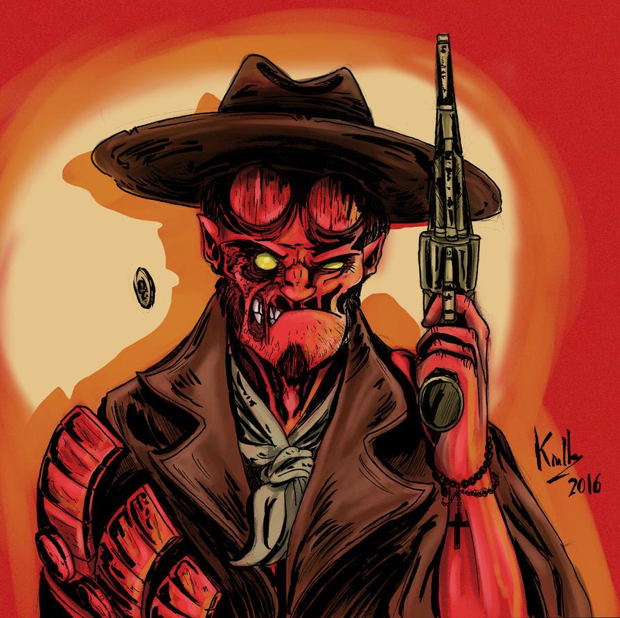 Hellboy Hex by Nandah
