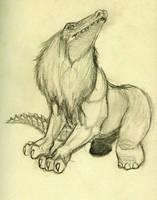 Ammut, the Soul Eater by Nandah