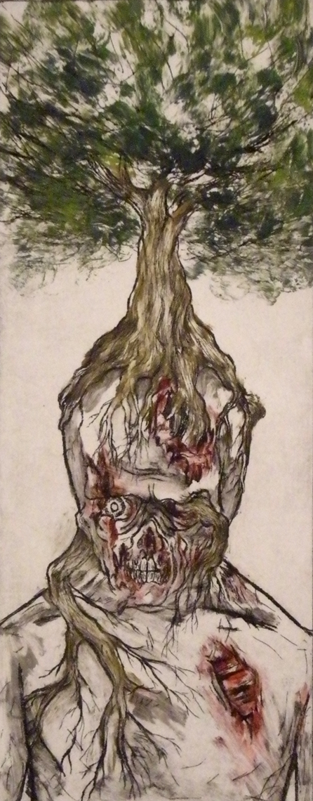 zombie tree variation 3 by gbcink
