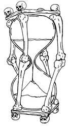 death's hourglass