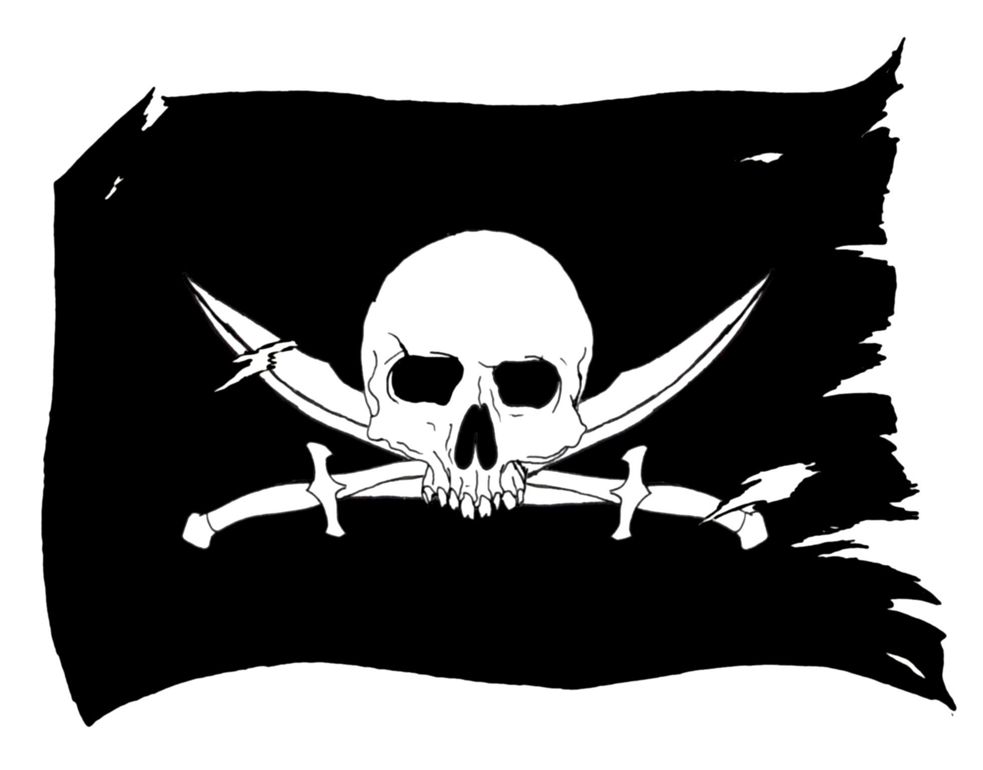 pirate flag 2 by gbcink on deviantart. Black Bedroom Furniture Sets. Home Design Ideas