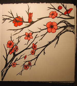 watercolor flowers 6