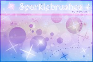 Sparklebrushes 4 for Photoshop by inge123