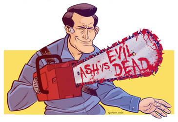 Ash vs Evil Dead by FedericoGardin