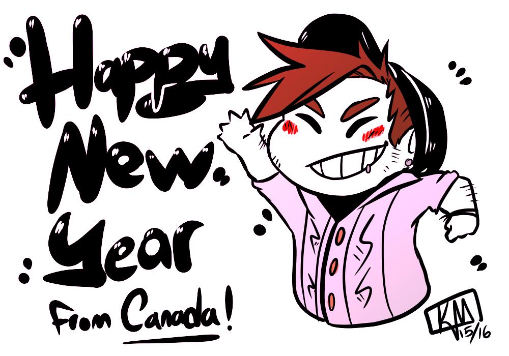 Happy New Year~ by Gearpunk