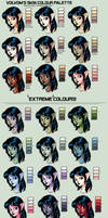 My skin colour palette by Volvom