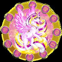Zodiac Ponies - Libra by Volvom