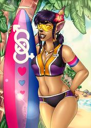 Pride Month Surfing