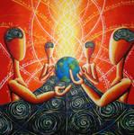 cosmic meeting S M ARTWORK
