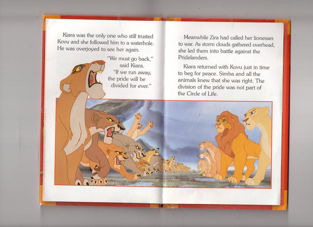 The Lion King Ladybird Book Scan  Outlanders by echosdusk on