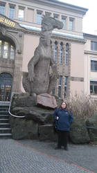 Iguanodon at Berlin Zoo and Aquarium