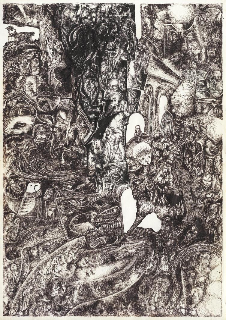 Demiurge dream in black (gb049) by headbale