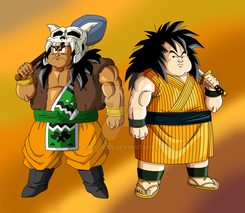 Commission Mokomoko And Yajirobe By Raykugen On Deviantart