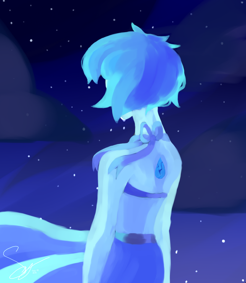 I really flipping love lapis for some reason and I have no idea what to name all of these lapis pictures Tumblr: kunkaii.tumblr.com/post/129511… Art is mine, do not steal Character is L...
