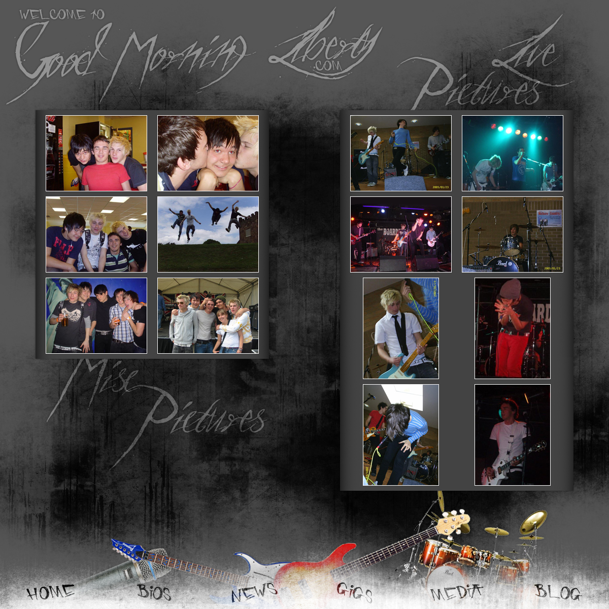 Good Morning Liberty.com 2 by DarkVortexX