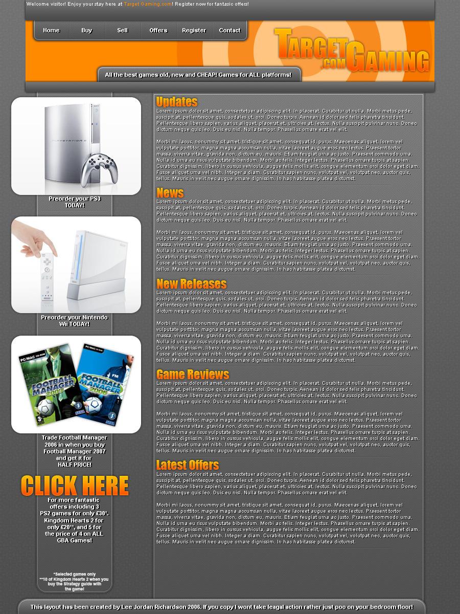 Target Gaming.com by DarkVortexX