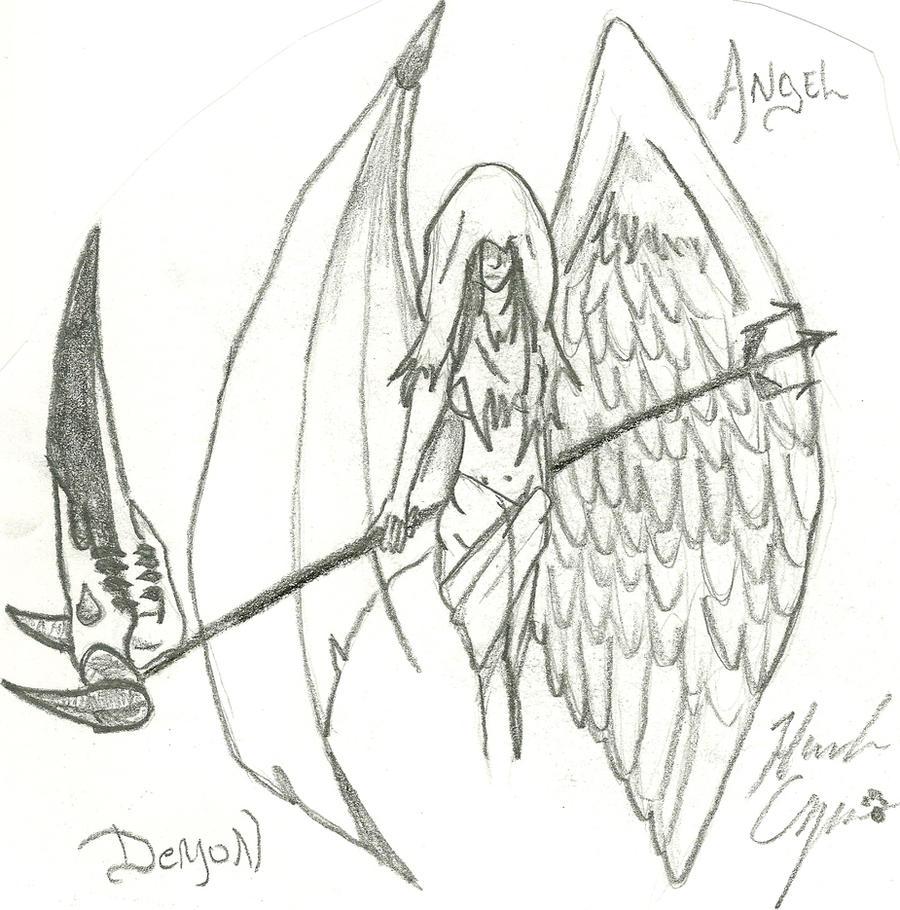 Angel Of Deception 2 by HannahCopper on deviantART