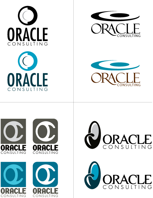 oracle consulting logo options by applebydesign on deviantart