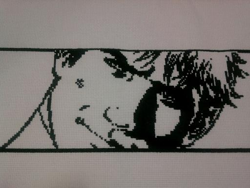 Beast Boy Cross Stitch by KTHunter
