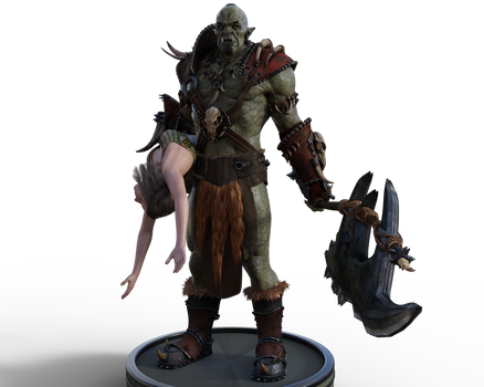 The Orc And The Damsel