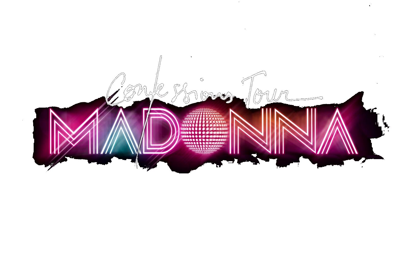 Madonna Confessions Tour logo Png 2