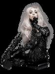 Lady Gaga  by Nick Knight png 2