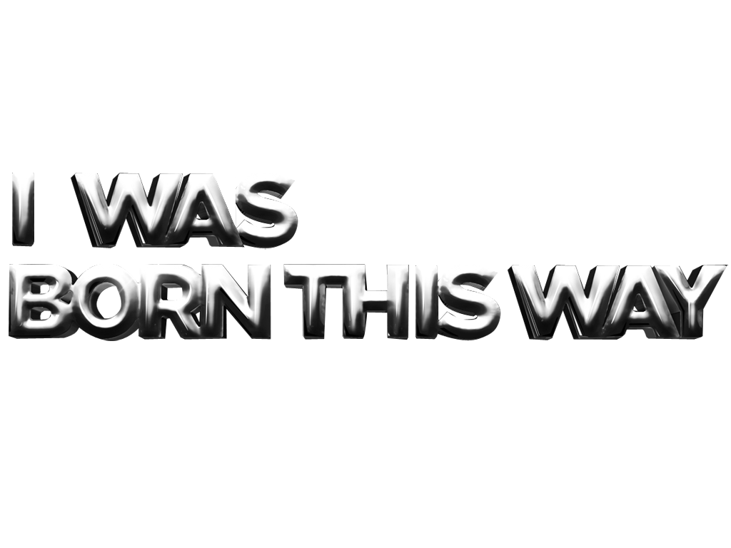 Lady Gaga Born This Way Logo