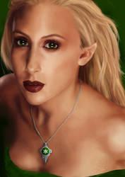 An elf of Arcana