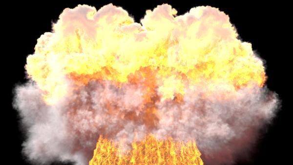 Detonation in progress by ChaosInStillness