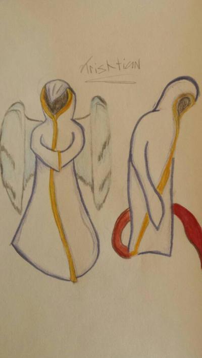 the high priests by Dinonerdart