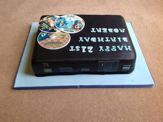 My Wii U cake (back)
