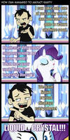 How Dan managed to abduct Rarity