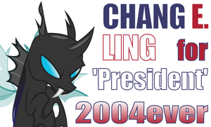 Chang E. Ling for 'President' by Dowlphin