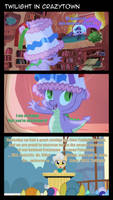 Twilight in Crazytown by Dowlphin