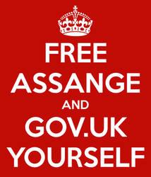 #FreeAssange keepcalm by Dowlphin