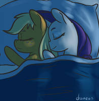 30 minute challenge - Sleepover by draneas