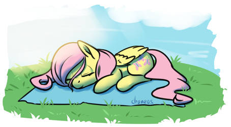 30 minute challenge - Fluttersnooze by draneas