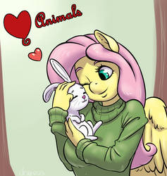 Love Animals by draneas